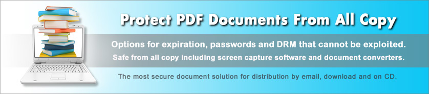 Copy and Print Protection to Secure PDF Documents and eBooks